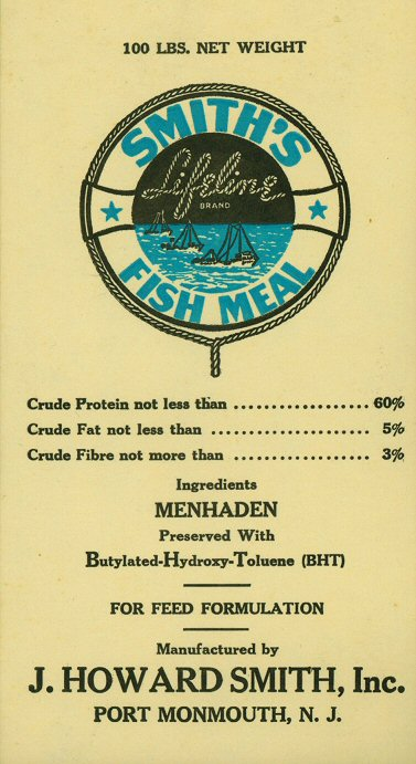 Promised land lirr for Menhaden fish meal