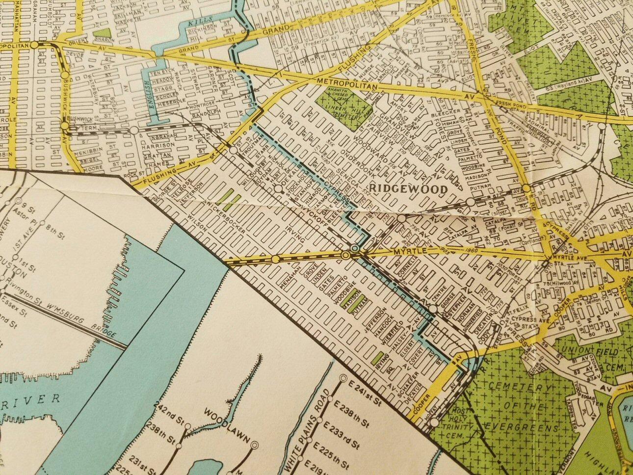 Nyc Subway Map Fron Flatbush No2 Train To Queens Jamaica Vanwick Stn.Lirr History Website Updates
