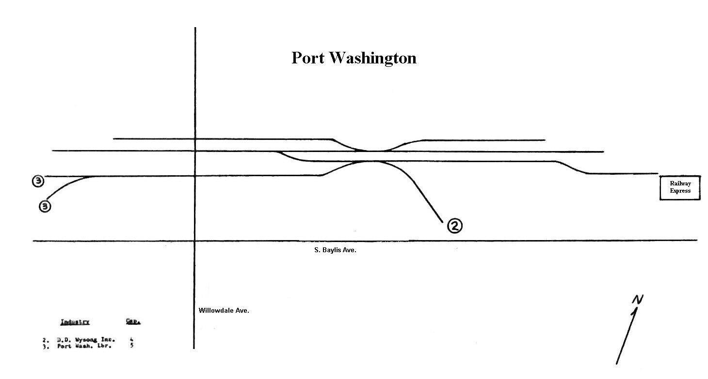 Port Washington Branch Page 6 Railroad Net