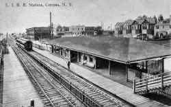 Station-Corona-View W - c. 1910 (Keller).jpg (129937 bytes)