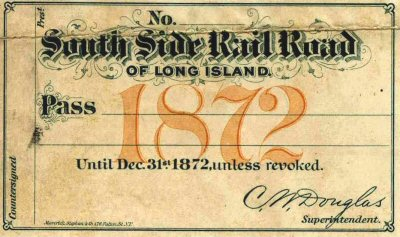South Side Railroad of Long Island History