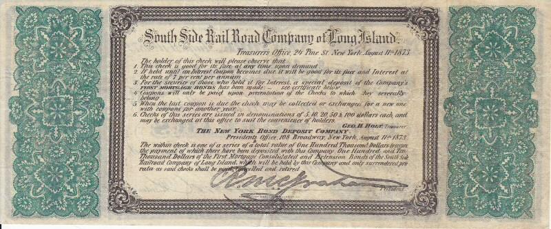 South Side Railroad of Long Island History