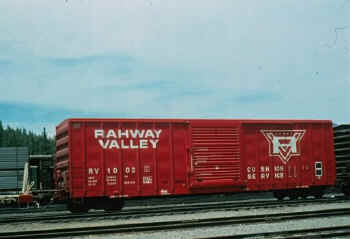 Rvrr Freight Car Roster